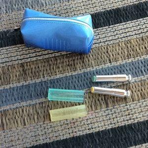 Dior color corrector sexy with Dior blue bag